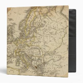 Europe 52 3 ring binder