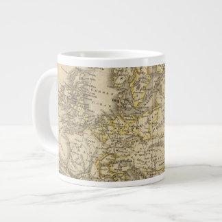 Europe 52 large coffee mug