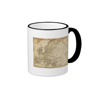Europe 52 ringer mug