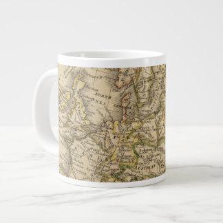 Europe 6 20 oz large ceramic coffee mug
