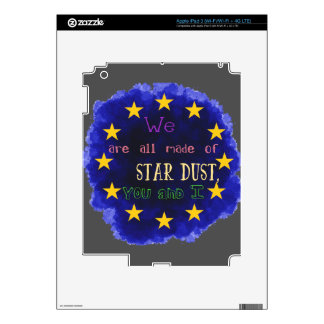 Europe - a star map decal for iPad 3