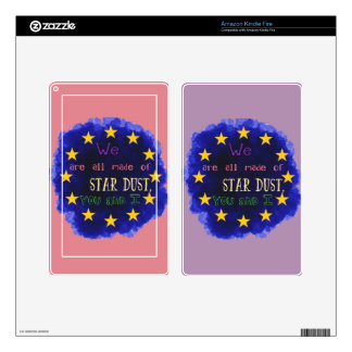 Europe - a star map decal for kindle fire