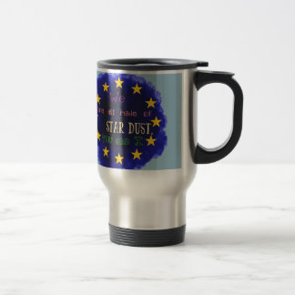 Europe - a star map travel mug