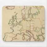 Europe and Major Cities Mouse Pad