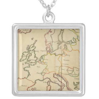 Europe and Major Cities Necklaces