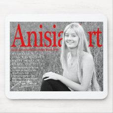 Europe Art Brand World Top Photographer Anisia art Mouse Pad