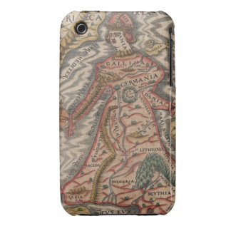 Europe As Queen iPhone 3 Case