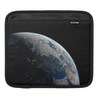 Europe-at-night1209 PLANET EARTH SPACE EUROPE NIGH Sleeve For iPads