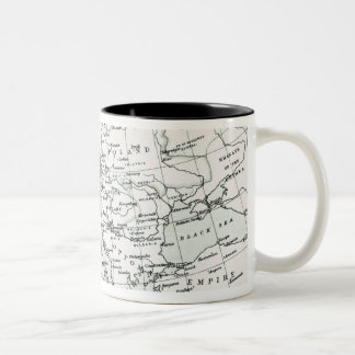 Europe, at the start of the Reformation Two-Tone Coffee Mug