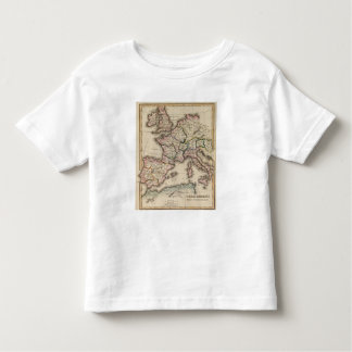 Europe Atlas Map Toddler T-shirt