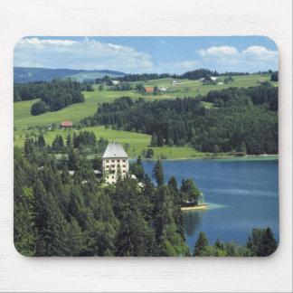 Europe, Austria, Fuschl. Schloss Fuschl Castle Mouse Pad