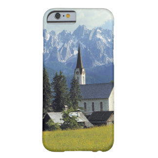 Europe, Austria, Gosau. The spire of the church Barely There iPhone 6 Case