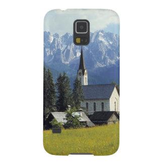 Europe, Austria, Gosau. The spire of the church Case For Galaxy S5