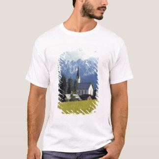 Europe, Austria, Gosau. The spire of the church T-Shirt