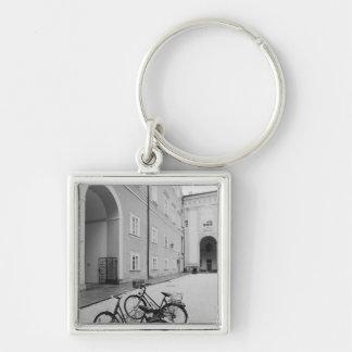 Europe, Austria, Salzburg. Bicycles in the Keychain