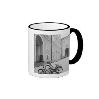 Europe Austria Salzburg Bicycles in the Mug