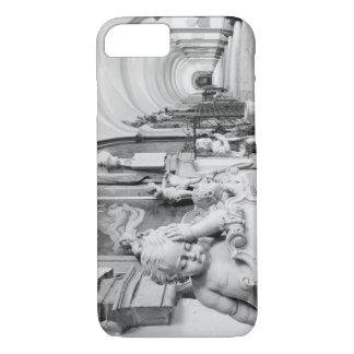 Europe, Austria, Salzburg. Cherub and monument iPhone 7 Case