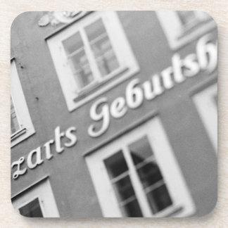 Europe, Austria, Salzburg. Mozart's Birthplace 2 Beverage Coasters