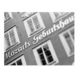 Europe, Austria, Salzburg. Mozart's Birthplace 2 Postcard