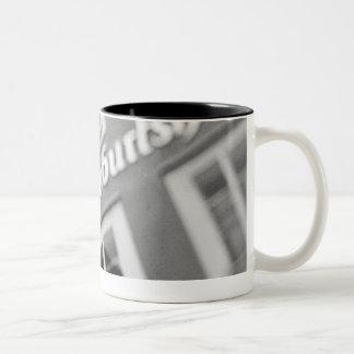 Europe, Austria, Salzburg. Mozart's Birthplace 2 Two-Tone Coffee Mug