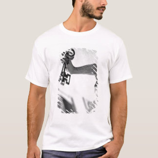 Europe, Austria, Salzburg. Statue with keys 2 T-Shirt