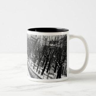 Europe, Austria, Salzburg. The bank of the River Two-Tone Coffee Mug