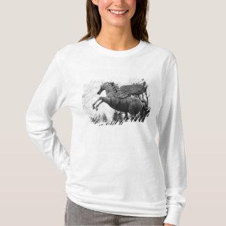 Europe, Austria, Salzburg. Winged horse statue, 2 T-Shirt