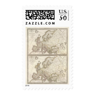 Europe before barbarian invasions postage