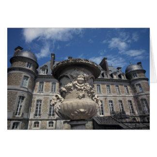 EUROPE, Belgium, Beloeil Castle Card