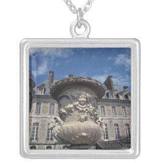EUROPE, Belgium, Beloeil Castle Silver Plated Necklace