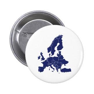 Europe Pinback Button