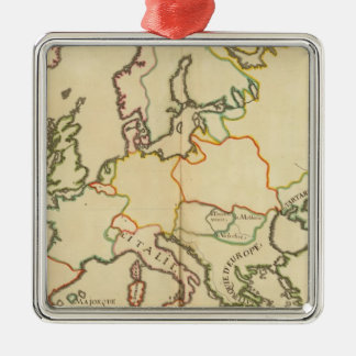 Europe by Religion 2 Christmas Ornament