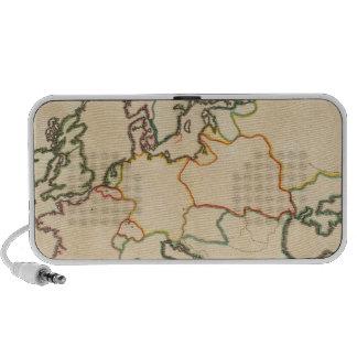 Europe by Religion 3 Portable Speaker