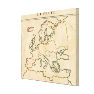 Europe by Religion Canvas Prints