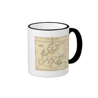 Europe by Religion Coffee Mugs