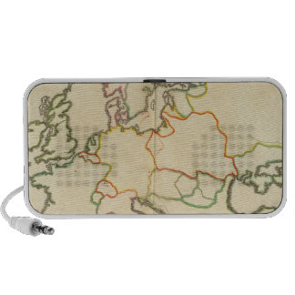 Europe by Religion Portable Speakers