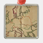 Europe Climate Christmas Ornament