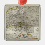Europe Climate Map Ornaments