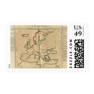 Europe Climate Stamp