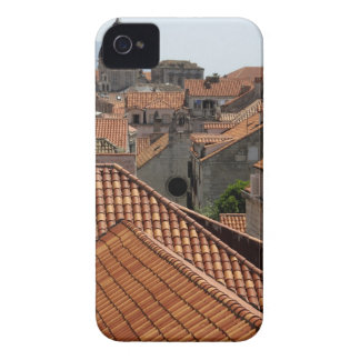 Europe, Croatia. Medieval walled city of 2 iPhone 4 Cover
