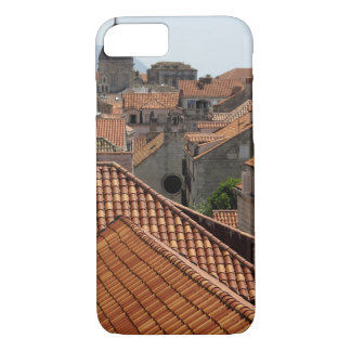 Europe, Croatia. Medieval walled city of 2 iPhone 8/7 Case