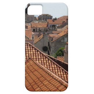 Europe, Croatia. Medieval walled city of 2 iPhone SE/5/5s Case