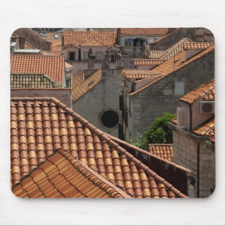 Europe, Croatia. Medieval walled city of 2 Mouse Pad