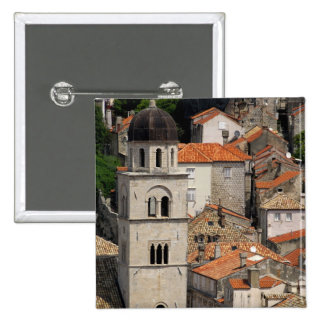 Europe, Croatia. Medieval walled city of Button