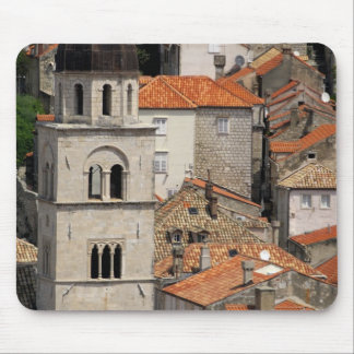 Europe, Croatia. Medieval walled city of Mouse Pad