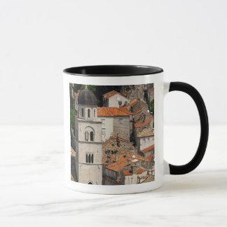 Europe, Croatia. Medieval walled city of Mug