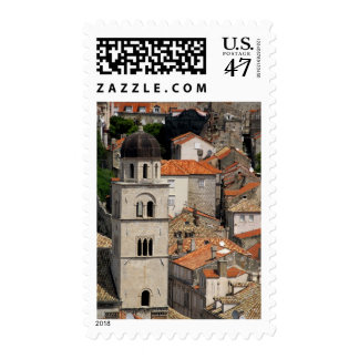Europe, Croatia. Medieval walled city of Postage