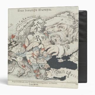 """Europe', de hoy 1887 carpeta 1 1/2"""""""