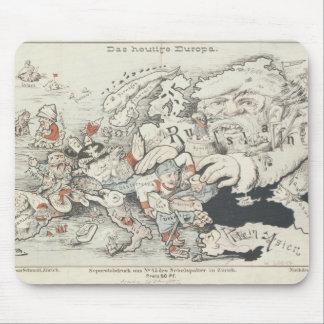 Europe', de hoy 1887 mousepad