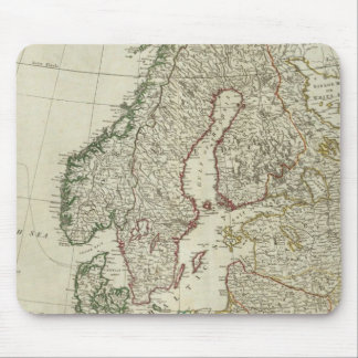 Europe divided into its empires, kingdoms mouse pad